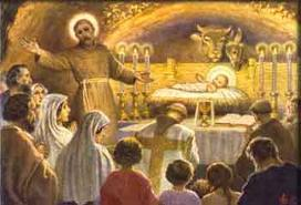 Image result for St Francis and the creche