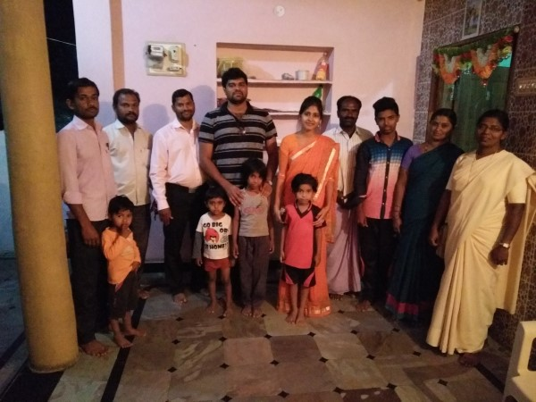 On 17-2-2018 and 18-02-2018 the Headmaster of Sneha Jyothi Vidyalaya along  with teachers visited the houses of 10th Std. Studens situated in the  neighboring ...